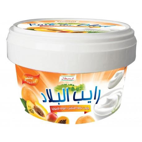 Raib abricot fruits tropicaux